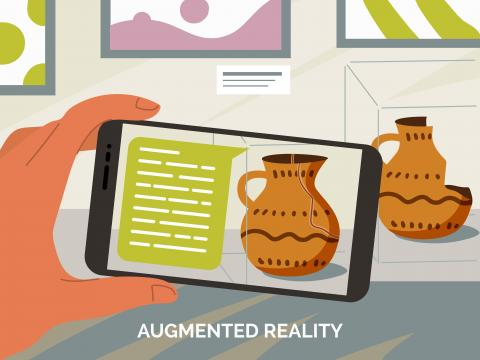 Augmented Reality Application in Museums